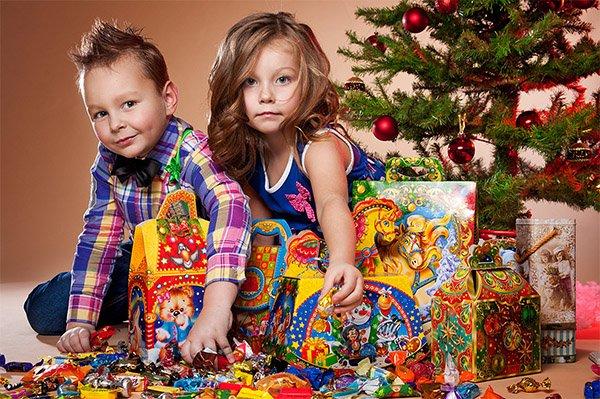 Подарки в детский сад