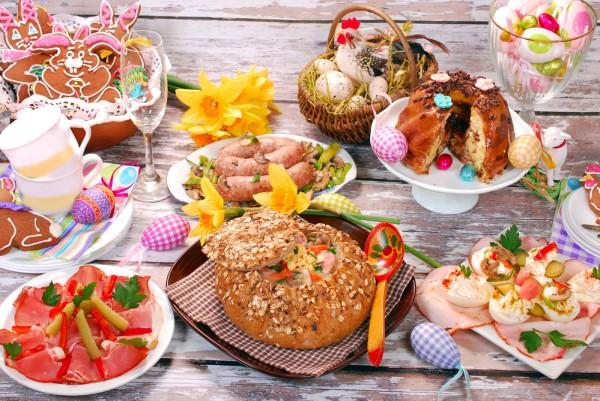 Традиционные блюда на пасху