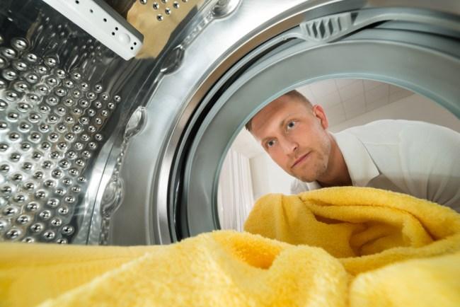 записка в стиральной машине