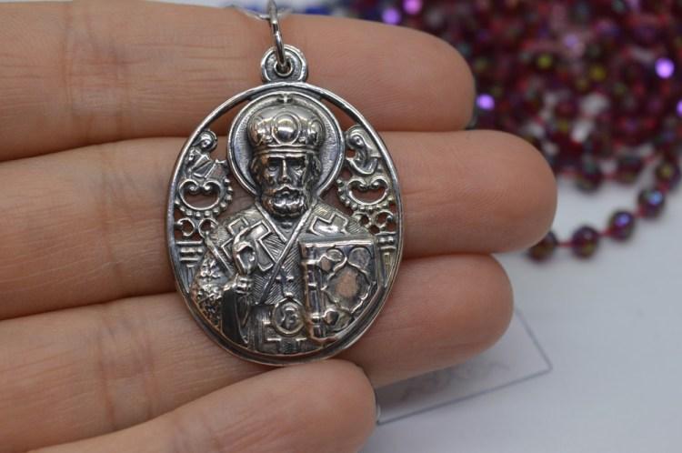 ладанка с изображением святого-покровителя