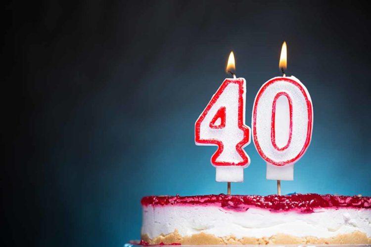 можно ли отмечать 40 лет