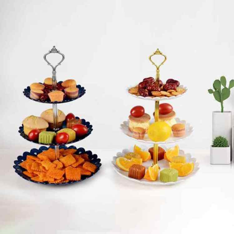 этажерку для фруктов и пирожных