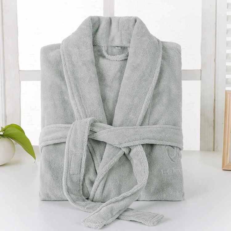 теплый халат для бабушки