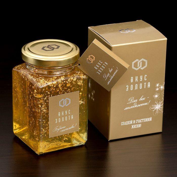 мед с золотом