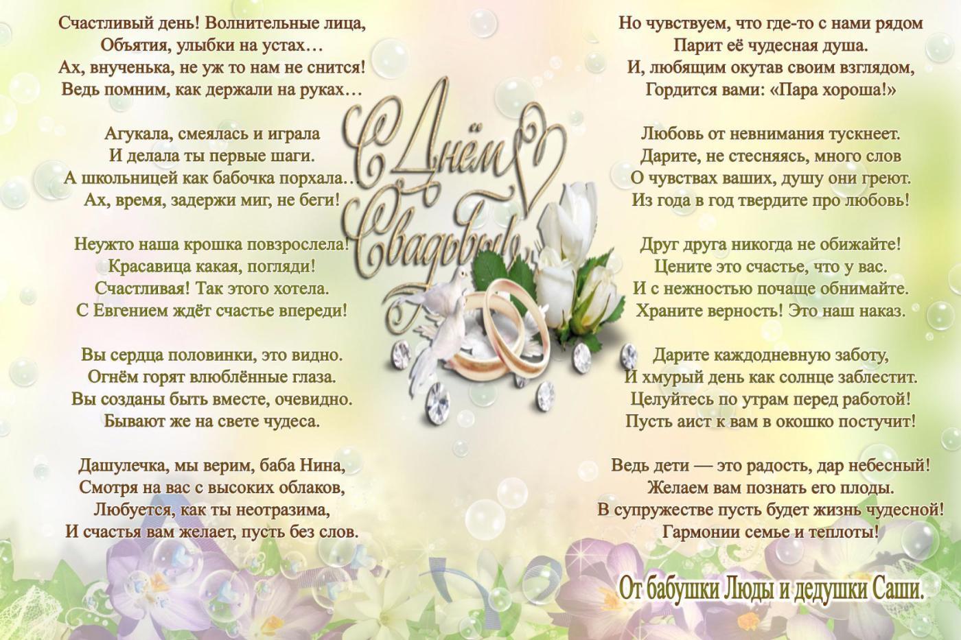 Текст поздравления на свадьбу, антон картинки