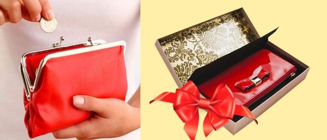 кошелек в подарок