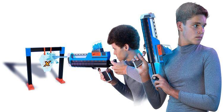стрельба из водяных пистолетов
