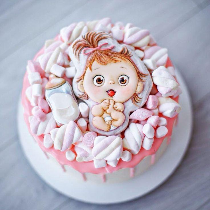 Детский торт «на годик» — Zira.uz