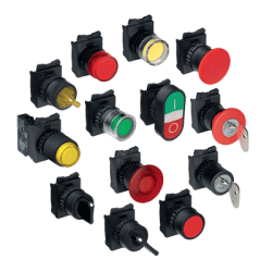 WEG CSW PUSHBUTTONS AND PILOT LIGHTS LINE