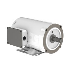 WEG HYDROWASH WHITE PAINTED WASHDOWN MOTOR
