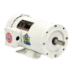 US MOTORS SPECIAL APPLICATION Painted Washdown Single Phase, Totally Enclosed, C-Face