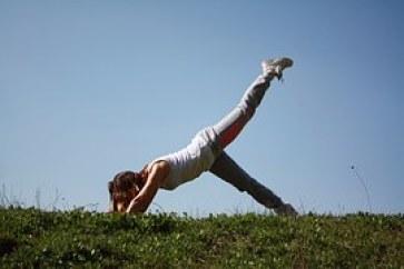 exercise outside