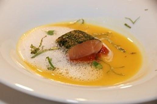 salmon soup