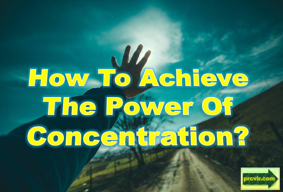 power of concentration