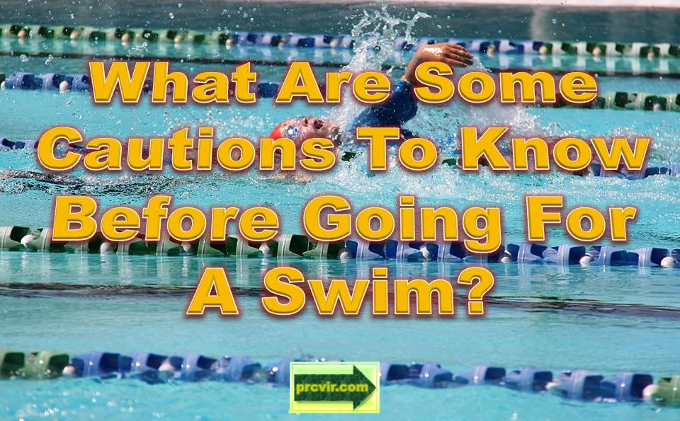 swimming cautions