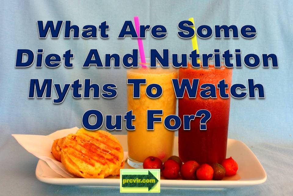 diet myths and nutrition