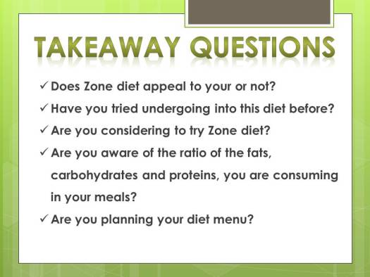 discover zone diet