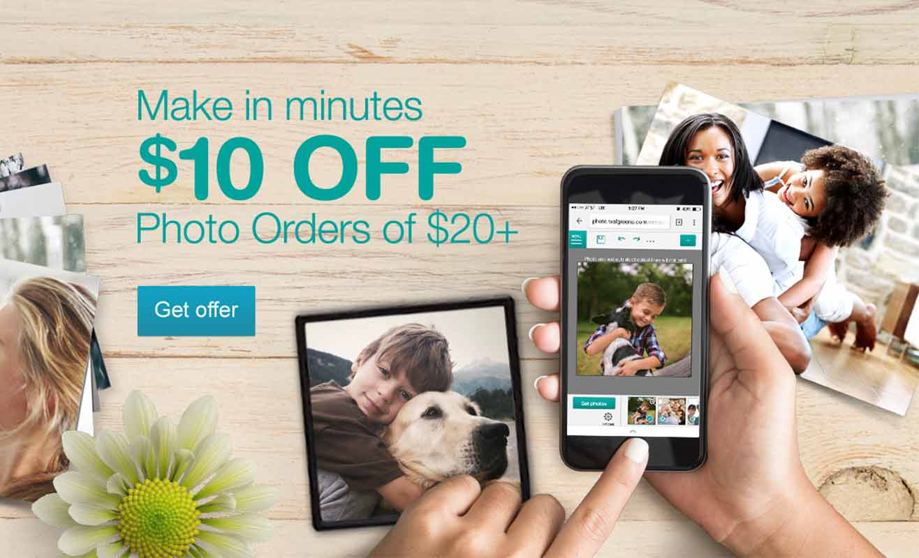 Make in minutes- $10 OFF Photo Orders $20+. Get offer.
