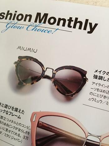 miumiuのサングラス