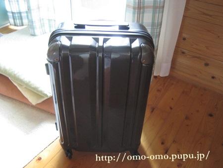 イオンでスーツケース購入