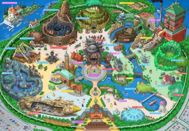 В японской префектуре Айти появится тематический парк анимационной студии Ghibli