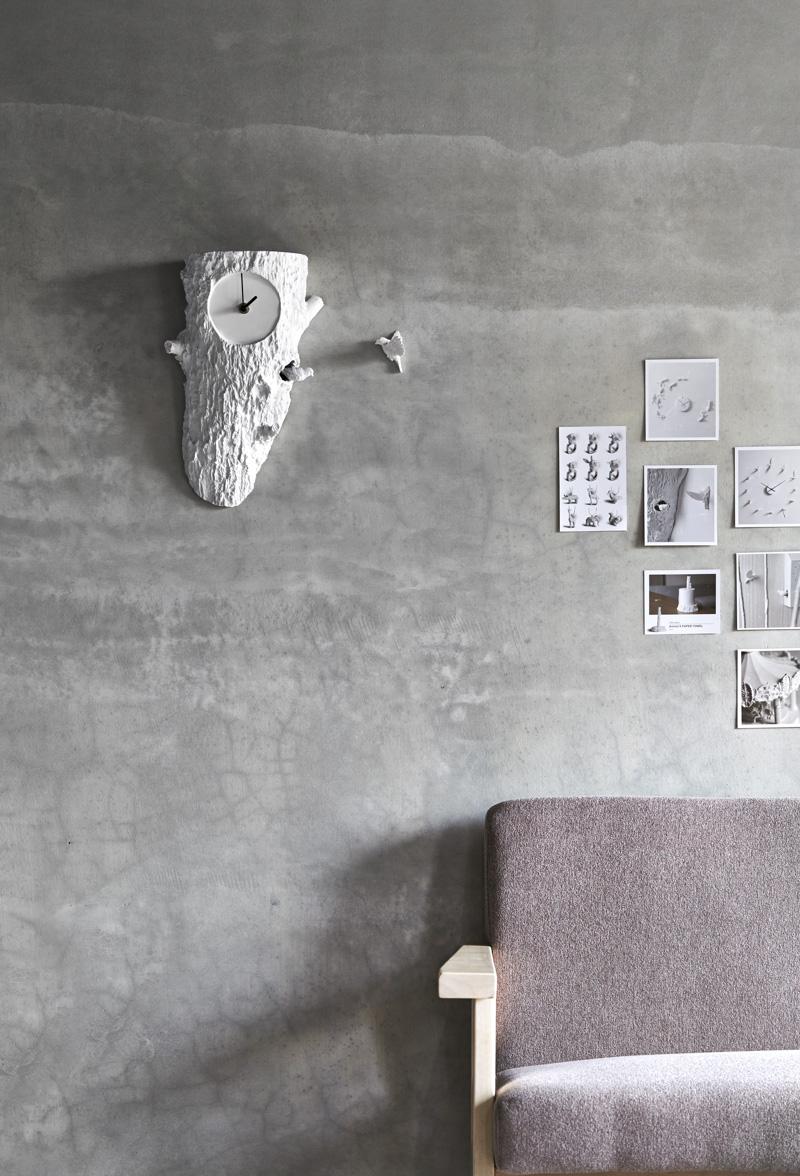 Wall Clock Cuckoo X By Haoshi Design PRE TEND Be Curious