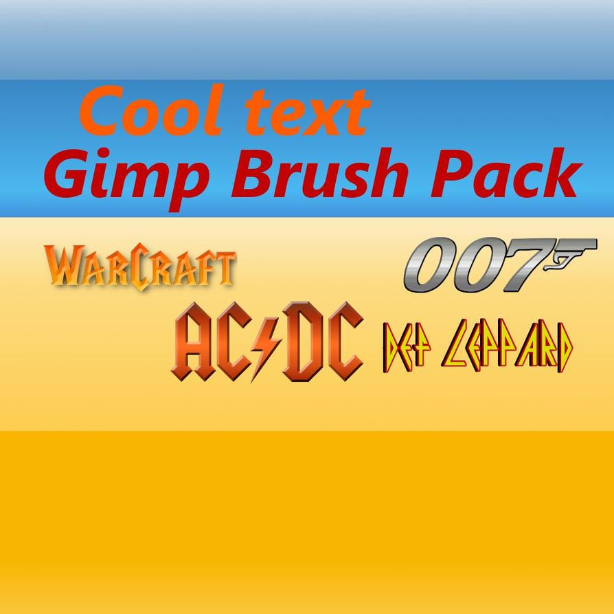 Download Gimp Cool Text 0.1 by CrazyTacoKid on DeviantArt