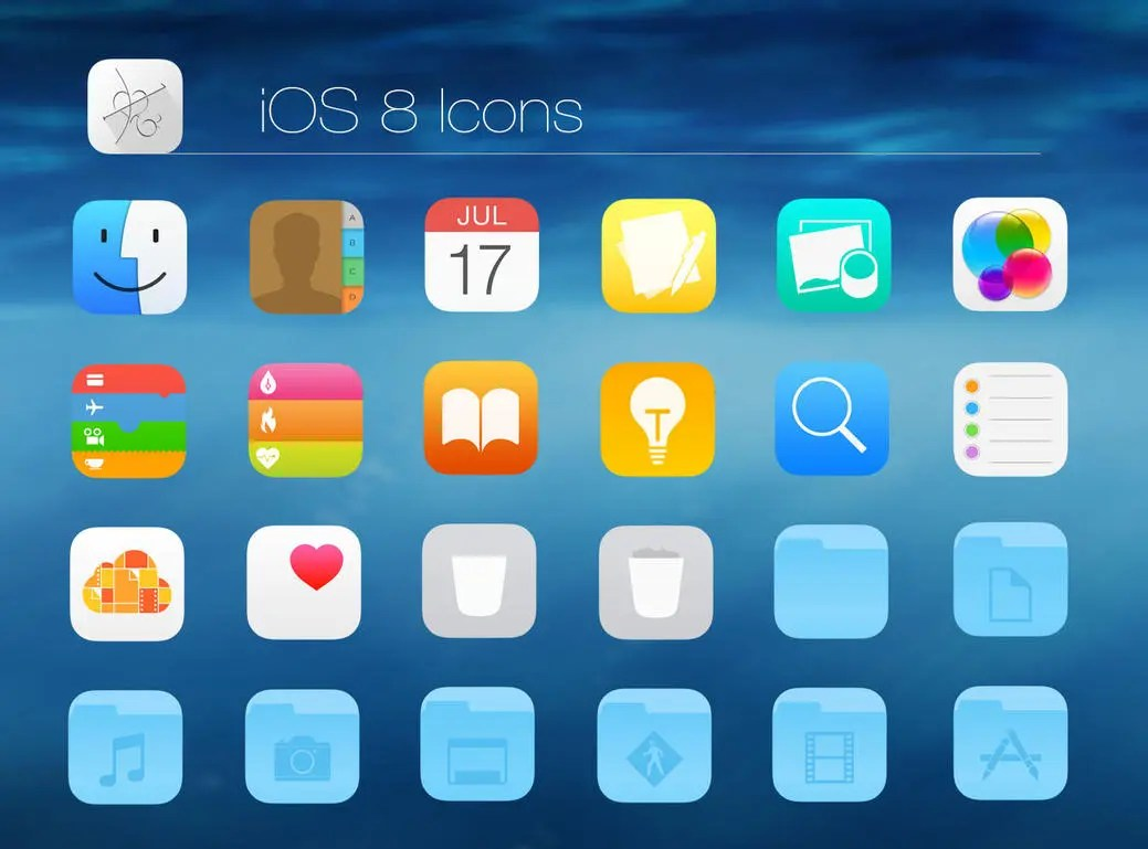 ios 8 icons by dtafalonso d802isr Iphone 6 Wallpaper Hd