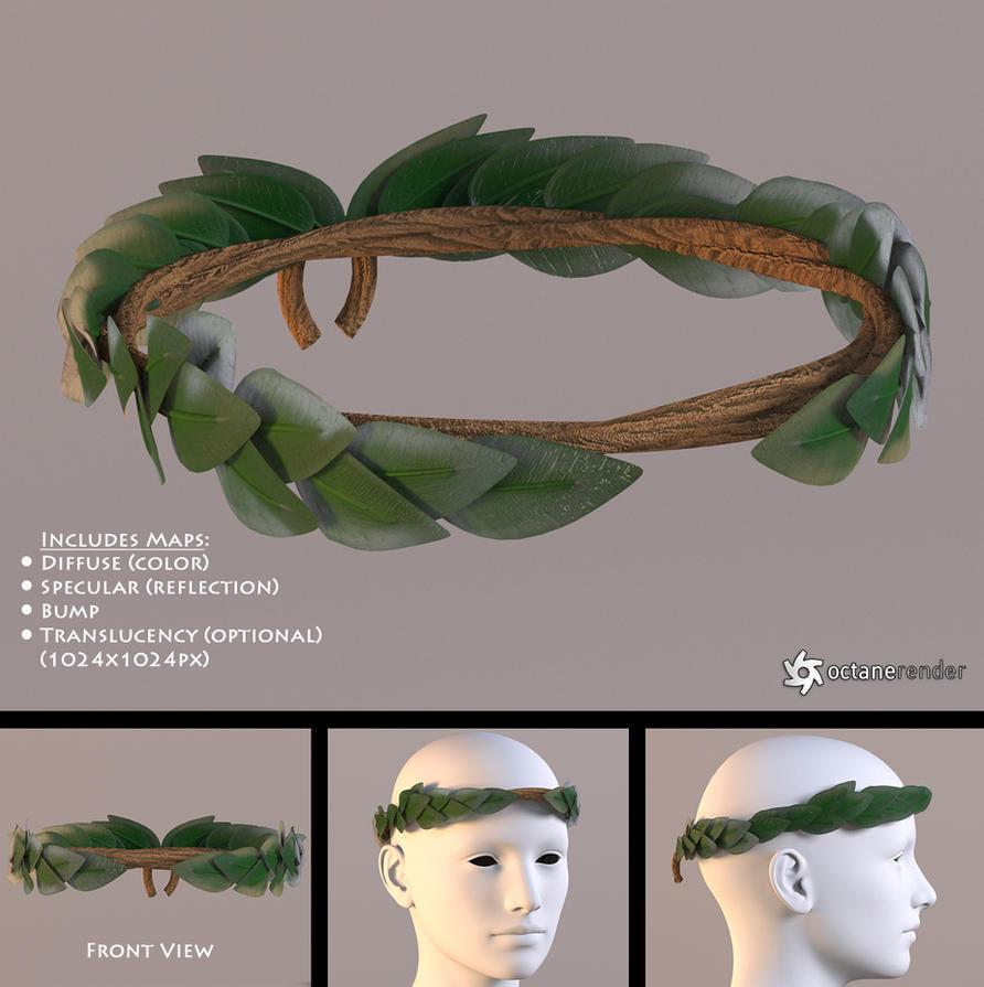 Laurel Wreath Free 3D Model By LuxXeon On DeviantArt