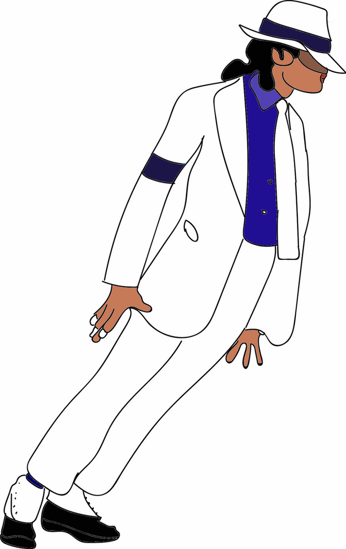 Color IllustrationSmooth Criminal Michael Jackson By