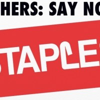 Teachers. Back to school but not back to Staples.