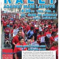 Rally for Chicago teachers, kids and schools.