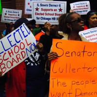 Behind Rauner's insults. Whose schools?