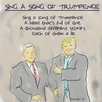 Sing a song of Trumpence.