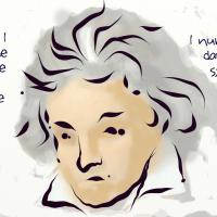 Beethoven's metrics.