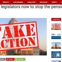 The impotent Illinois Education Association is a day late and a dollar short on pension theft.