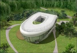 La maison en forme de cuvette