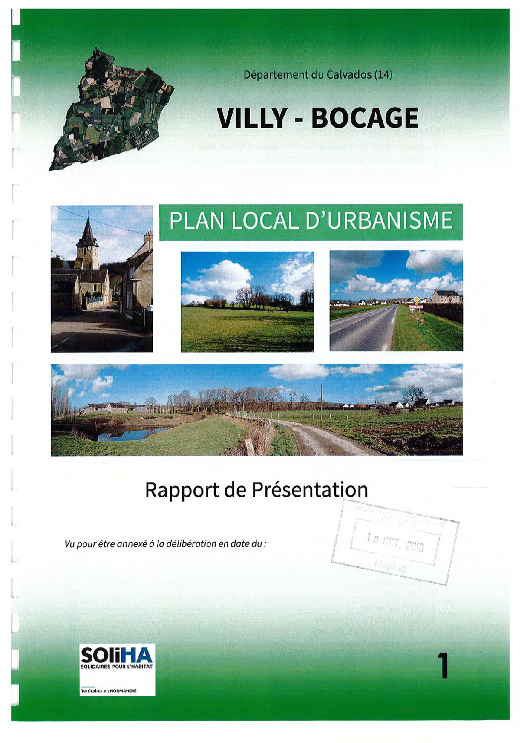 Villy-Bocage : Rapport de présentation AP2