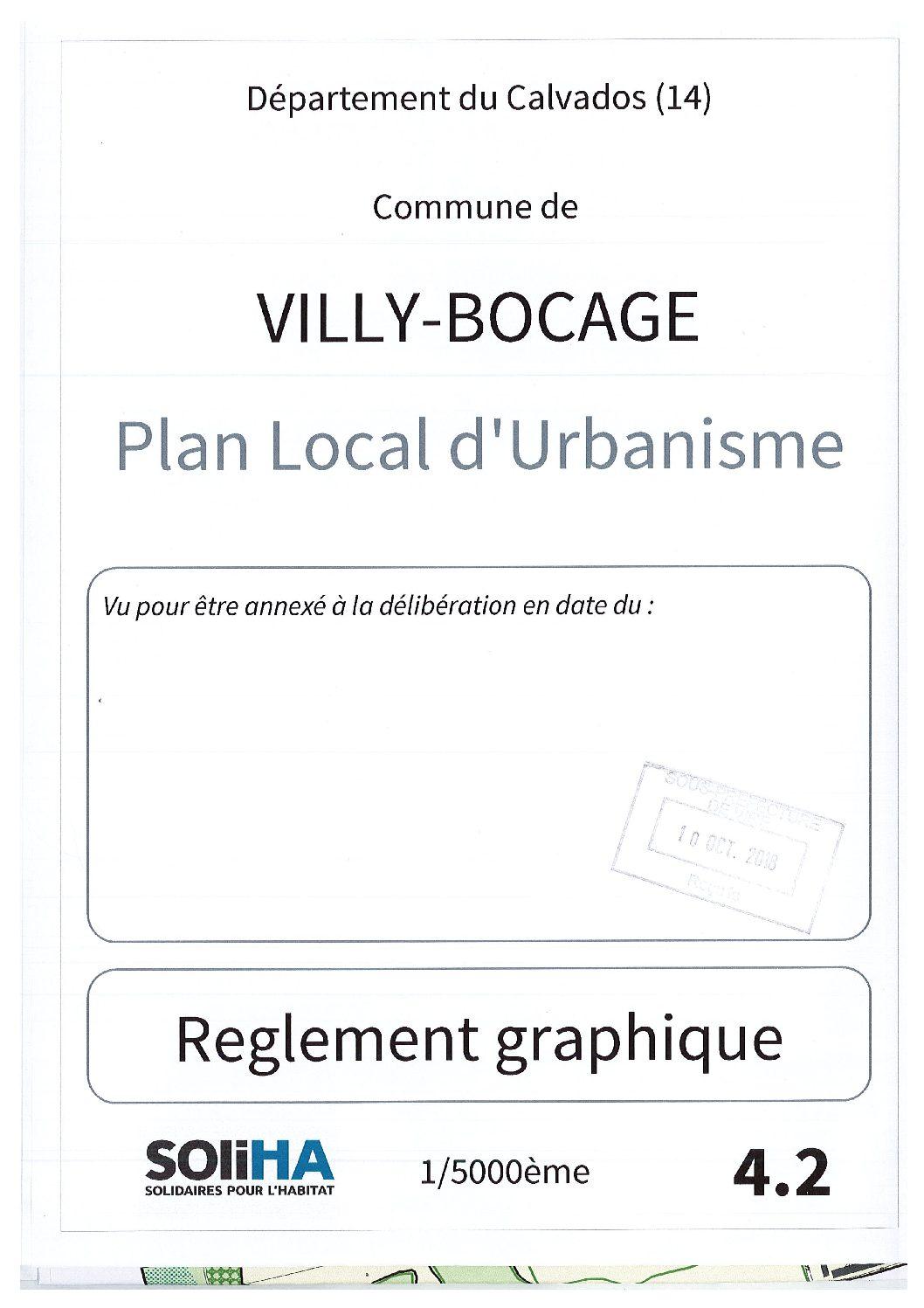 Villy-Bocage : Regelement Graphique AP2