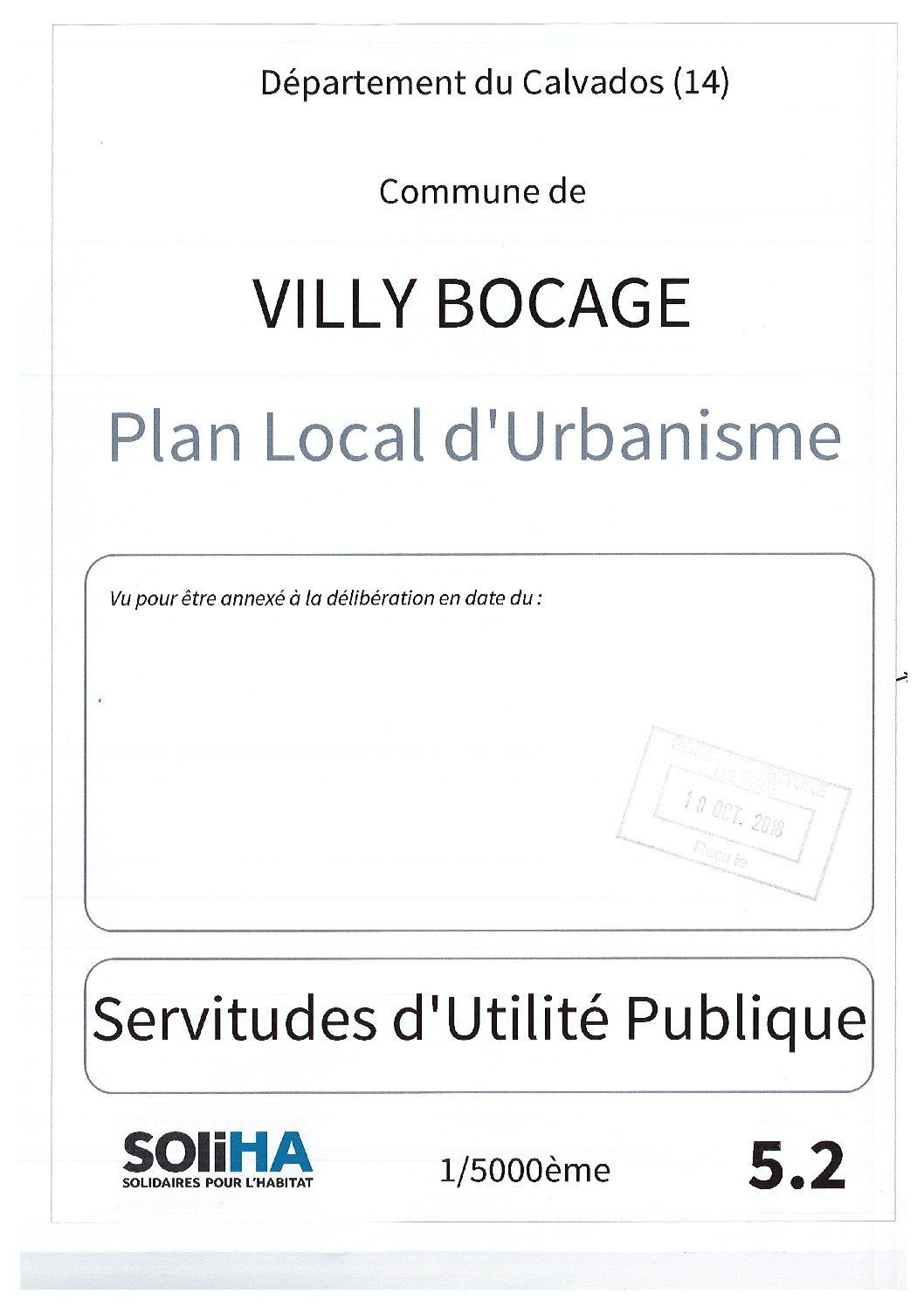 Villy-Bocage : Servitudes