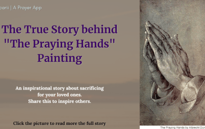 """The Story behind """"The Praying Hands"""" Painting"""