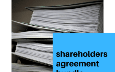 Shareholders Agreement Bundle Now Available…