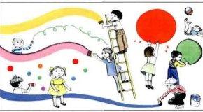 Dibujos animados que enseñan