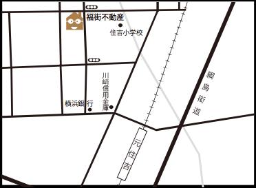 福街不動産 地図