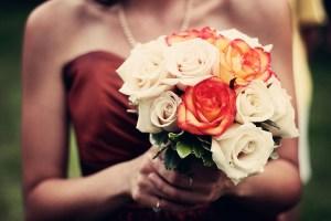 パーティーに向かう花嫁