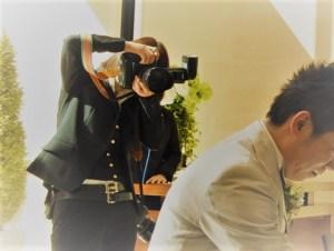 結婚式のカメラマン