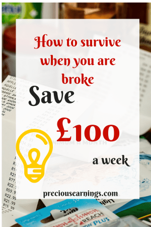 survive when you are broke