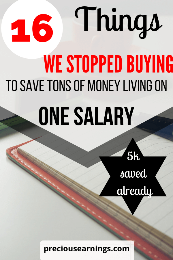 16 things we stopped buying to save a ton a money