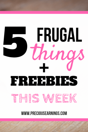 frugal things plus freebies