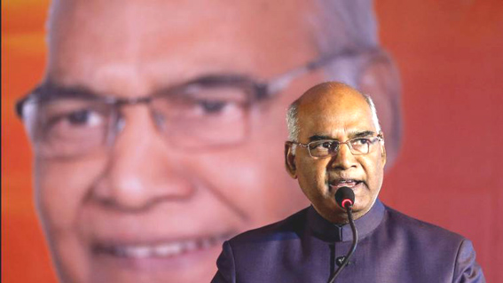 Demonetisation a defining moment in war on corruption, black money: Kovind
